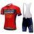 Abbigliamento ciclismo rosso