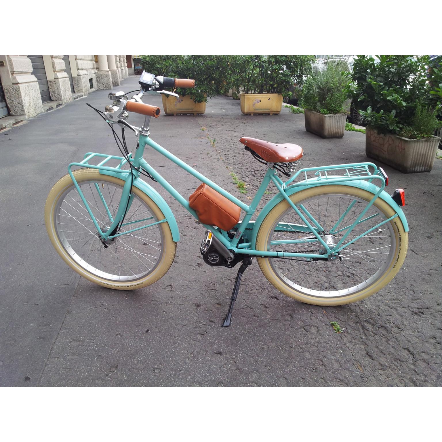 Bici elettrica donna vintage in offerta dai migliori negozi