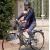 Bicicletta da passeggio con seggiolino