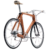 Bicicletta legno